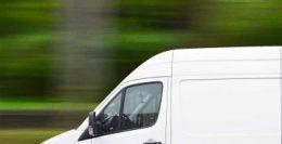 Hvid varevogn